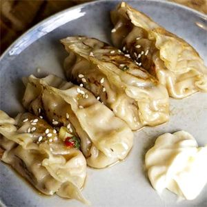 Chinese Pork and Cabbage Dumplings