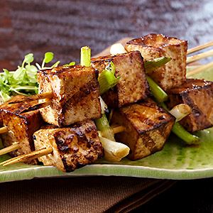 Tofu Japanese Skewers