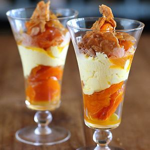 Maggie Beer's Dried Apricots and Saffron Labneh