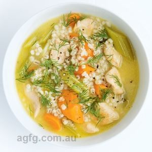 Chicken Stew with Dill Grain Bowl by Anna Shillinglaw Hampton