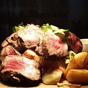 Roast Beef, Vegetables and Yorkshire Pudding - Chef Recipe by Neale White