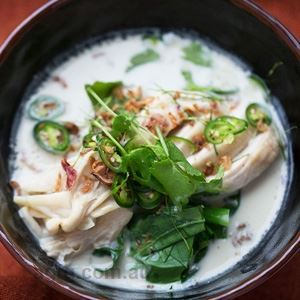 Tom Kha Gai - Chef Recipe by John McLeay