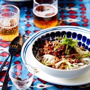 Beijing Spicy Pork Noodles - Chef Recipe by Ross Dobson