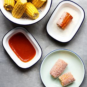 Gochujang Mayo and Coconut Corn on the Cob - Chef Recipe by Ed Smith