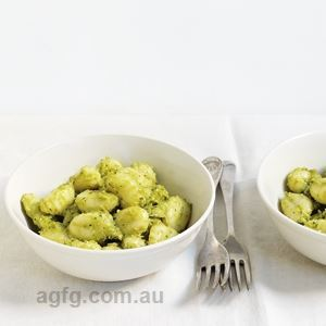 Avocado Pesto Gnocchi - by Sue Quinn