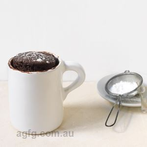 Chocolate Cake in a Mug - by Sue Quinn