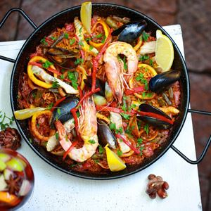 Seafood Paella by Alegrias Restaurant