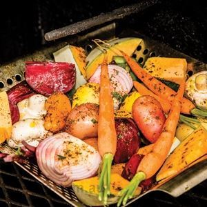 Roasted Spicy Vegetables - by Robert Louis Murphy