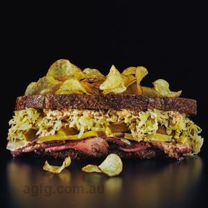 Toasted Reuben - Chef Recipe by Darren Purchese