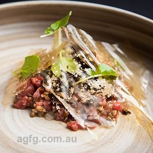Beef Tartare - Chef Recipe by Anthony Hales