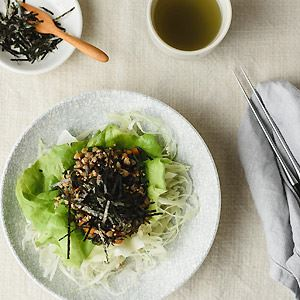 Buckwheat, Hijiki, Kale and Vegetable Salad - Chef Recipe by Michelle Rogerson