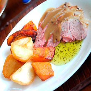 Traditional Roast Lamb with Old Fashioned Gravy - Recipe by Julie Goodwin