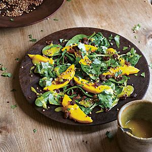 Mango, Spinach and Buckwheat Salad - by Hugh Fearnley-Whittingstall