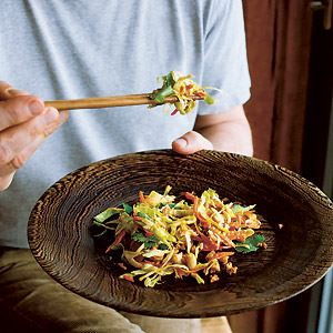 Summer Slaw with Peanut Dressing by Hugh Fearnley-Whittingstall