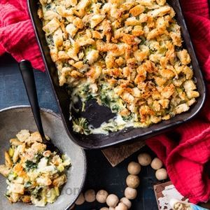 Kale and Leek Bake by Shannon Martinez & Mo Wyse