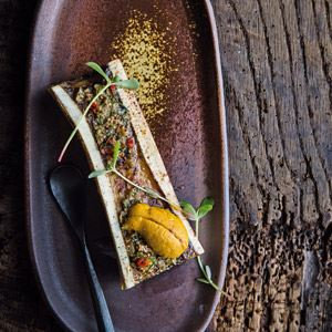 Bone Marrow, Sea Urchin and Purslane - Chef Recipe by Lennox Hastie