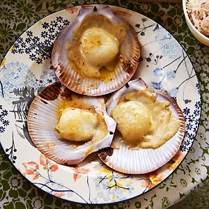 Scallops with Miso Butter - Chef Recipe by Matt Wilkinson and Sharlee Gibb