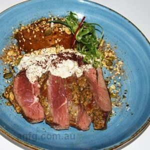 Pink Roasted Lamb Rump - Chef Recipe by Robert Fuch