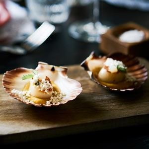 Capesante Scallops with Truffle Powder - Chef Recipe by Paolo Masciopinto