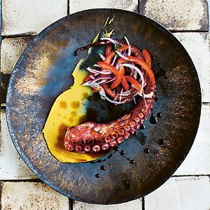 The Studious Octopus (Pulpo Chancon) - Chef Recipe by Martin Morales