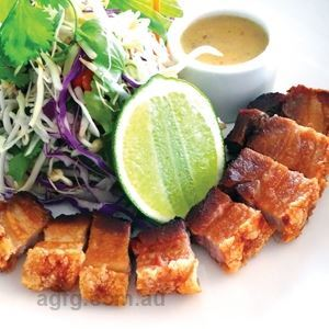 Pork Belly Salad - Chef Recipe by Ferdi Salvana