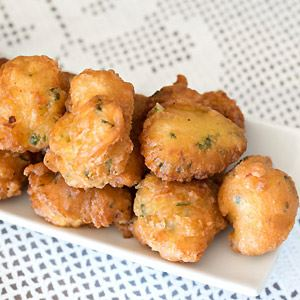 Greek Style Fish Croquettes - Psaro Keftedes