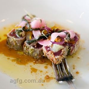 Tuna Tataki - Chef Recipe by Damien Styles