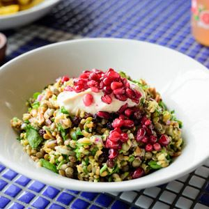 Cypriot Grain Salad - Chef Recipe by George Calombaris