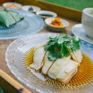 Hainanese Peranakan Chicken Rice - Chef Recipe by Adam Liaw and Malcolm Lee