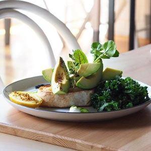 Avocado with Honey Roasted Lemons - Chef Recipe by Gary Binmore