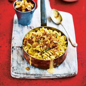 "Mac n ""Cheese"" with ""Bacon"" Bits - Chef Recipe by Gaz Oakley"