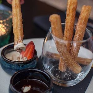Churros - Chef Recipe from The Cuban