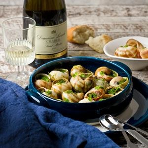 Escargot - Chef Recipe by Sylvain Bernard