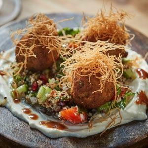 Mung Bean Falafels - Chef Recipe by Henri Azzi