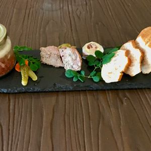 Calvados Pork and Chicken Liver Pate - Chef Recipe by Charles-Etienne Prétet