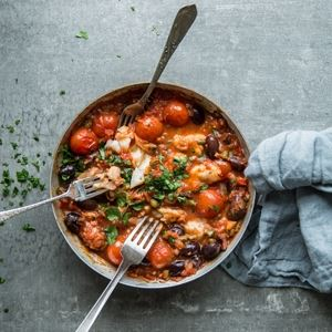 Sicilian Fish Stew by Scott Gooding