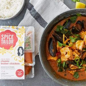 Mixed Seafood Classic Butter Curry by The Spice Tailor