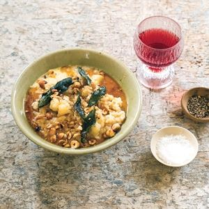 Cauliflower, Taleggio and Hazelnut Risotto with Burnt Butter - Chef Recipe by Leanne Kitchen