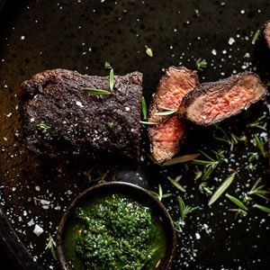 Wagyu Rump with Argentinian Chimichurri by Rare Steakhouse