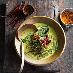 Watakolu Vanjanaya - Ridged Gourd Curry - Chef Recipe by Peter Kuruvita