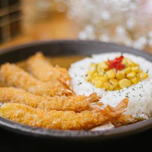 Ebi Katsu Sizzling Curry - Recipe by Pepper Lunch