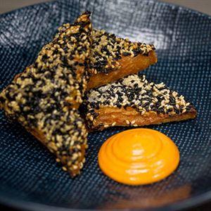 Prawn Toast and Gochu Mayo - Recipe by Sum Yung Guys