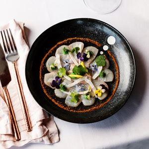 Kingfish Ceviche - Chef Recipe by Markella Koutalidi