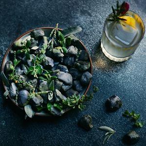 White Chocolate and Lemon Ganache Stones - Chef Recipe by John Demetrios