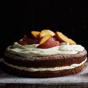 Peach Cake by Ross Dobson and Rachel Tolosa Paz