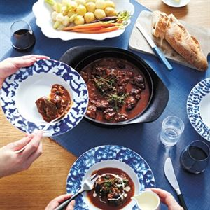 Slow Cooked Beef Cheek with Red Wine and Hatcho Miso by Meg & Zenta Tanaka