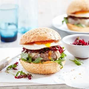 The Aussie Burger - Chef Recipe by Curtis Stone