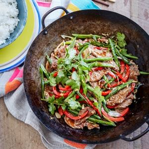 Beef and Green Bean Stir-Fry - Chef Recipe by Curtis Stone