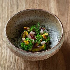 Pea Garden, Miso and Anchovy - Chef Recipe by Peter Gilmore