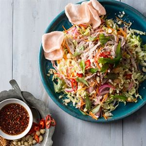 Macadamia Nut and Shredded Pork Salad